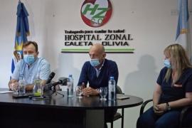 El Intendente de Caleta Olivia acompañó el acto de asunción de las nuevas autoridades del HZCO