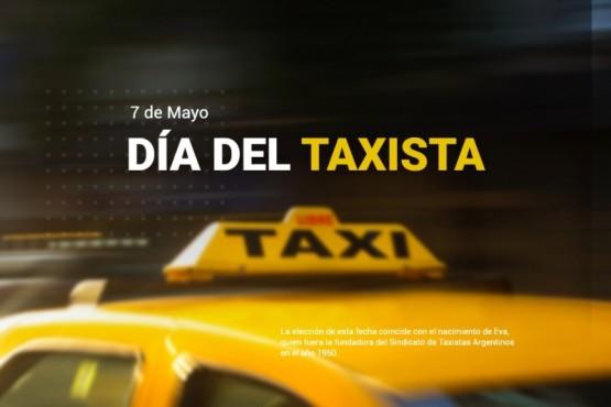 Hoy es el día del taxista en todo el país.