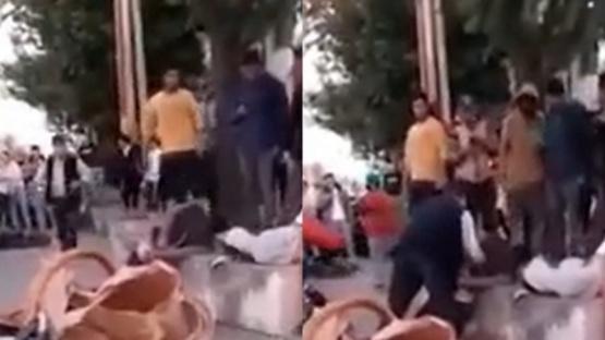 Vecinos capturaron, desnudaron y golpearon a motochorros