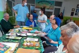Iniciaron talleres recreativos para los abuelos del Hogar de Ancianos de Caleta Olivia