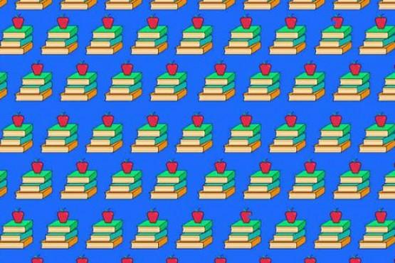 Reto viral: ¿Cuánto te demoras en encontrar las 2 manzanas mordidas en la imagen?