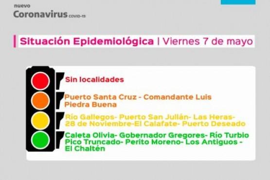 El Gobierno actualizó el índice epidemiológico para Santa Cruz