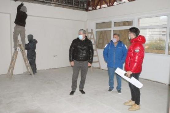 Realizaron un relevamiento en obras edilicias de Río Gallegos