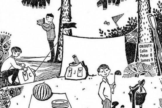 El reto viral de los niños en el campamento y las nueve preguntas