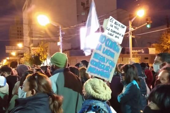 Asamblea ciudadana de Trelew se manifestó en apoyo a la lucha contra la minería