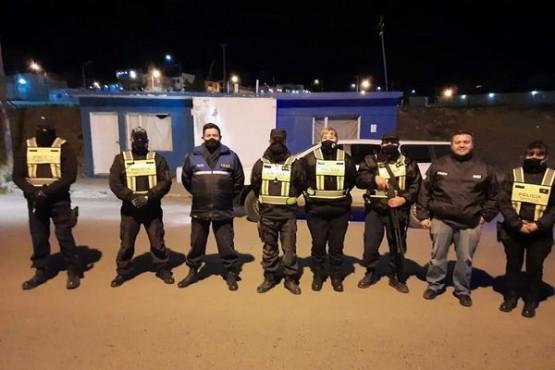 Guanes destacó la labor policial