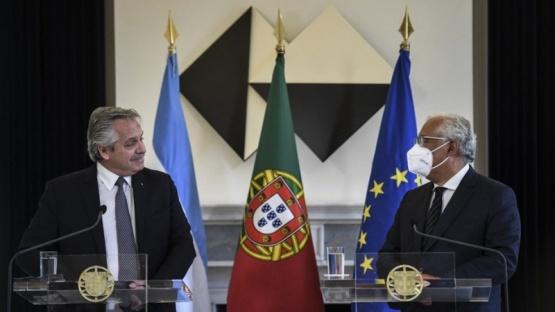 El Primer Ministro de Portugal expresó su apoyo a la posición de la Argentina