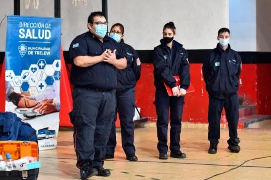 La Municipalidad brindó capacitación sobre RCP en el club Independiente