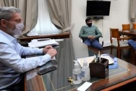 Mariano Arcioni recibió a los jefes comunales de Aldea Epulef y Aldea Apeleg