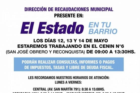 """Desde el miércoles """"El Estado en tu Barrio"""" estará en el Cenin N°6 de Río Gallegos"""