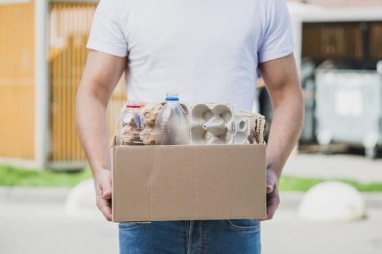 Se puede separar un 92% de los residuos realizando compost y reciclando