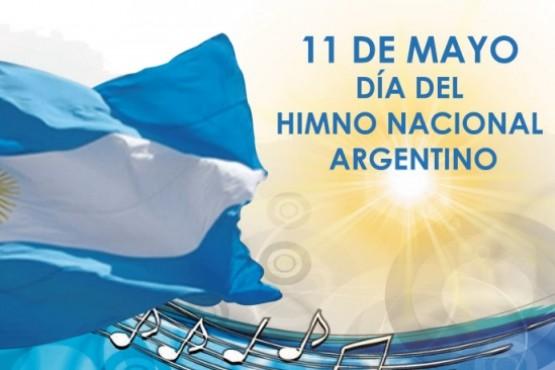 El 11 de mayo se conmemora el Día del Himno Nacional Argentino.