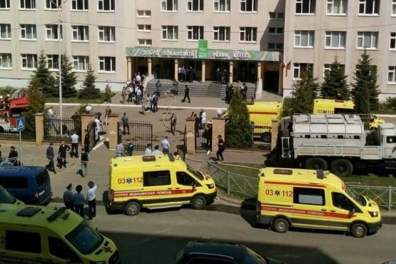 Masacre en una escuela de Rusia: al menos 9 muertos