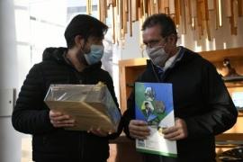Casarini valoró la visita de las autoridades provinciales y nacionales