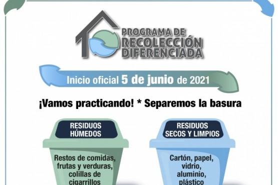 La Municipalidad de Río Gallegos recuerda que desde el 5 de junio comienza a regir la recolección diferenciada