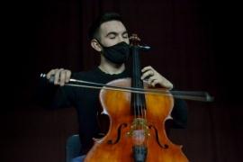 Pablo Díaz y la propuesta de una master class que tiene su cierre con un concierto de cuerdas