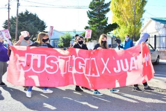 La familia y allegados piden justicia por Juan Manuel. (Foto: C.R.)