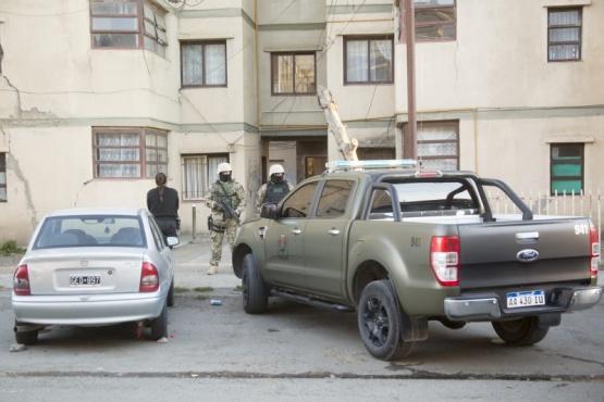 En el procedimiento participaron los efectivos de la División Fuerzas Especiales. (Foto: C.G.)