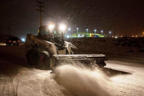 Definen las vías prioritarias de circulación durante nevadas en este invierno