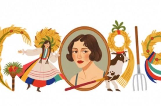 Zofia Stryjenska: el doodle en homenaje a la artista polaca