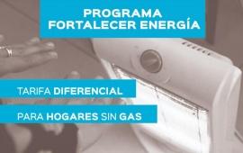 Presentan el Programa Fortalecer Energía para quienes no cuentan con red de gas