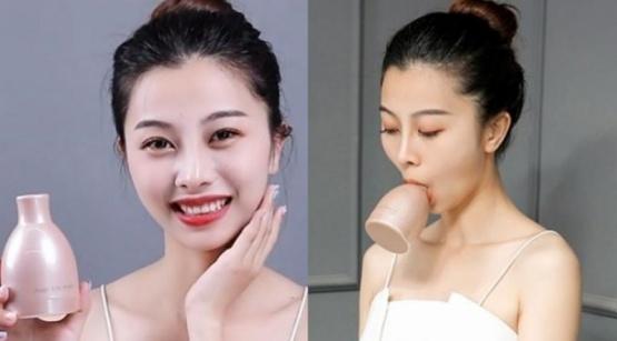 Furor por el método chino para conseguir una cara ovalada y puntiaguda