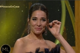 Juana Viale se quebró en vivo tras la muerte de Victoria Césperes