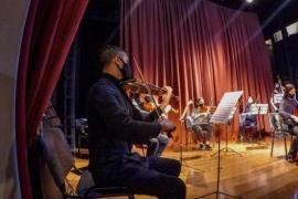 Concierto de violonchelo en el Teatro Municipal