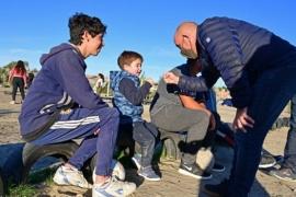 Sastre recorrió los talleres deportivos de Puerto Madryn