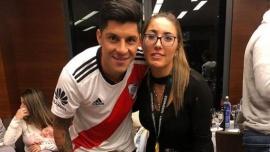 El emocionante posteo de la esposa de Enzo Pérez tras la victoria de River