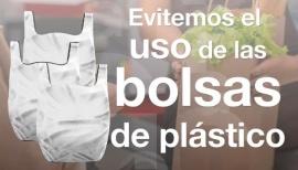 Recuerdan que están prohibidas las bolas camisetas de plástico
