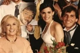 Se filtraron fotos inéditas de Mirtha Legrand en el casamiento de Franco Mercuriali
