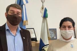 """Romero se reunión con Damián Biss: """"Coincidimos en la importancia de alcanzar consensos para combatir la pandemia """""""