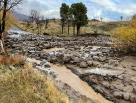 Cortes de agua y rutas por el terrible temporal de lluvia