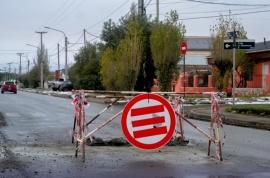 Municipio volvió a reparar el bache de la avenida San Martín