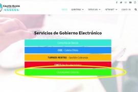 """""""Ciudadano Digital"""": El Municipio de Caleta Olivia avanza en la modernización de trámites y servicios online"""