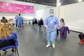 Más de mil esenciales vacunados en Santa Cruz