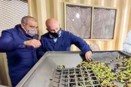 Sastre visitó el predio Ketrawe y celebró el crecimiento de las empresas madrynenses