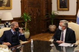 El Presidente recibió en la Casa Rosada a la cúpula de la DAIA