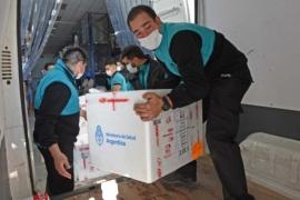 Chubut recibió nuevo lote de más de 38.000 Vacunas Antigripales