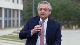 """Alberto Fernández: """"En medio de la pandemia pude cumplir infinidad de promesas de campaña"""""""