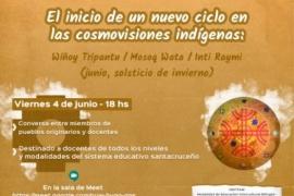 """Concretaran el conversatorio """"El inicio de un nuevo ciclo en las cosmovisiones indígenas"""""""