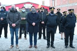 Fortalecen la labor de la Policía y Bomberos de Río Turbio
