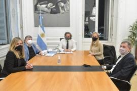 Santiago Cafiero entregó su informe al senado con Eje en la ayuda por la segunda ola de COVI-19