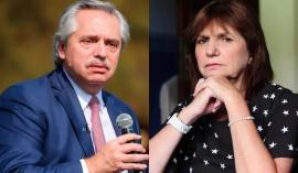 """Alberto Fernández le envió una carta documento a Patricia Bullrich """"por difamación"""""""