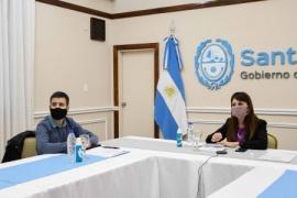 Santa Cruz participó en una reunión de trabajo con el Ministro de Transporte de la Nación