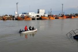 Provincia acompañó al CENPAT-CONICET en la toma de muestras de agua y sedimentos del Río Chubut