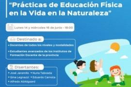 """Invitan a participar del Conversatorio """"Prácticas de Educación Física en la vida en la Naturaleza"""""""