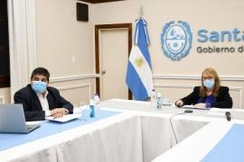 Alicia Kirchner participó de videoconferencia sobre la campaña de vacunación