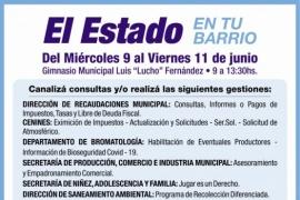 """""""El Estado en tu Barrio"""" se traslada al """"Lucho"""" Fernández de Río Gallegos"""